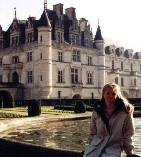 Angela in the Loire Valley, France