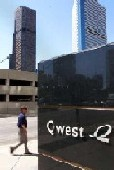 Qwest towers, downtown Denver